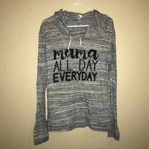 Mama hoodie size XL